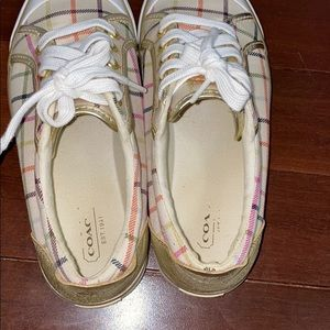 Coach Shoes - Coach Sneakers size 6 1/2 Used